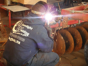 moonlight welding farm equipment repair