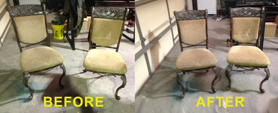 chair before and after repair