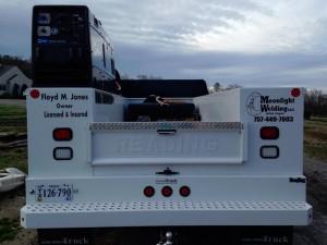 moonlight welding mobile truck back view