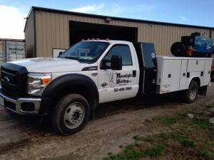 moonlight welding mobile truck front view