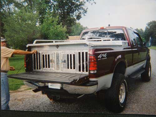 Aluminum dog boxes